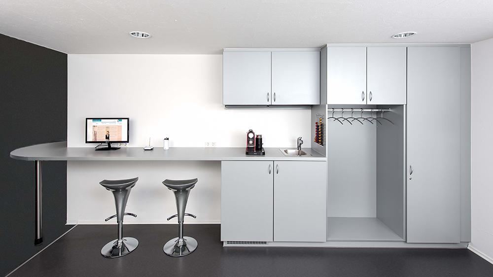 Küchenbereich für ein Büro