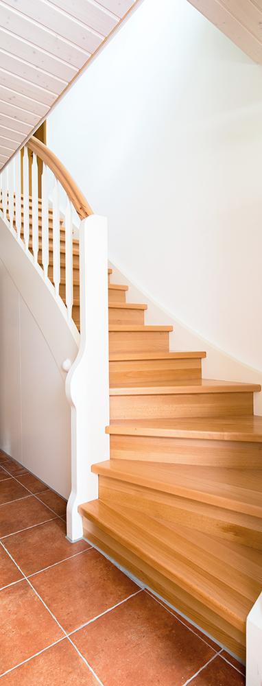 Treppe für ein Wohnhaus